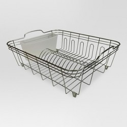 Kitchen Storage Racks, Holders and Dispensers (Steel, with Brushed Nickel Finish) - Threshold™