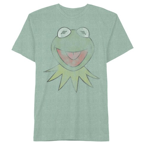 Men's Kermit Walks T-Shirt Kelly Green Snow - image 1 of 1