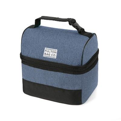 Fulton Bag Co. Bucket Lunch Bag - Navy