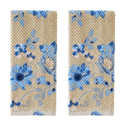 2pc Richmond Floral Hand Towel Set - SKL Home