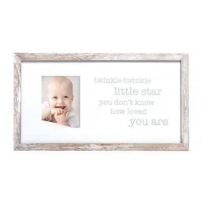 "Pearhead Twinkle Twinkle Little Star Picture 4"" x 6"" Frame"