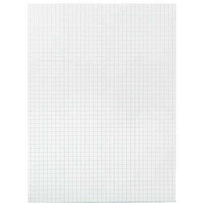 School Smart Graph Paper, 1/4 Inch Rule, 9 x 12 Inches, White, pk of 500