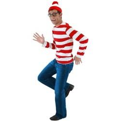 Elope Where's Waldo Costume Kit Adult Small/Medium