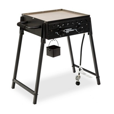 Country Smokers 2-Burner Gas Griddle 10666 Black