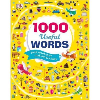 1000 Useful Words - (Hardcover)