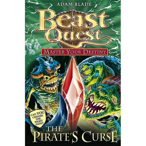 Beast Quest: Master Your Destiny 3: The Pirate`s Curse - by  Adam Blade (Paperback) - image 1 of 1
