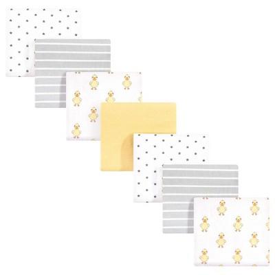 Hudson Baby Unisex Baby Cotton Flannel Receiving Blankets Bundle