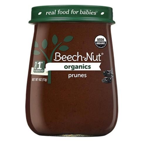 Beech-Nut Organics Prunes Baby Food Jar - 4oz - image 1 of 3