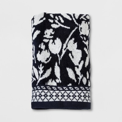Woven Hand Towel Xavier Navy - Threshold™