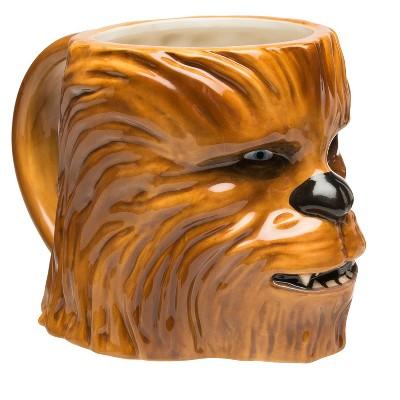 Zak Designs® Star Wars® Chewbacca Sculpted Ceramic Mug 19oz