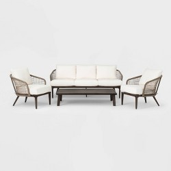 Risley 4pc Conversation Set with Coffee Table - Project 62™