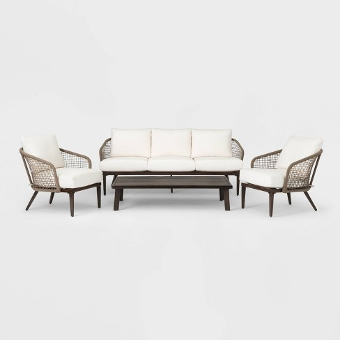Risley 4pc Patio Conversation Set - Project 62™ - image 1 of 4