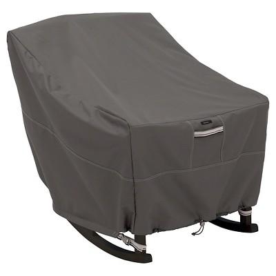 Ravenna Medium Patio Rocking Chair Cover - Dark Taupe - Classic Accessories