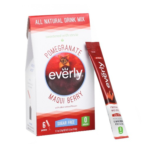 Everly Pomegranate Maqui Berry Drink Mix - 6ct - image 1 of 2