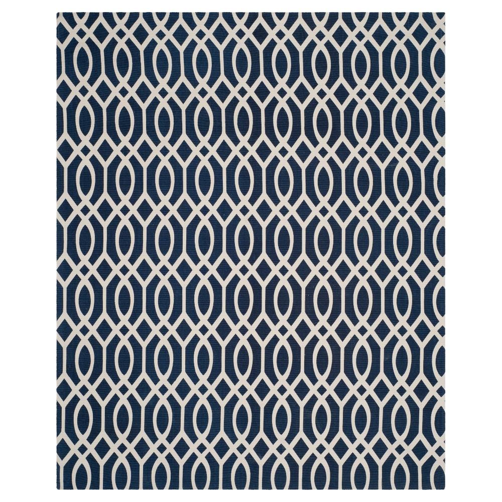 Riggs Area Rug - Navy (Blue)/Ivory (8'x11') - Safavieh