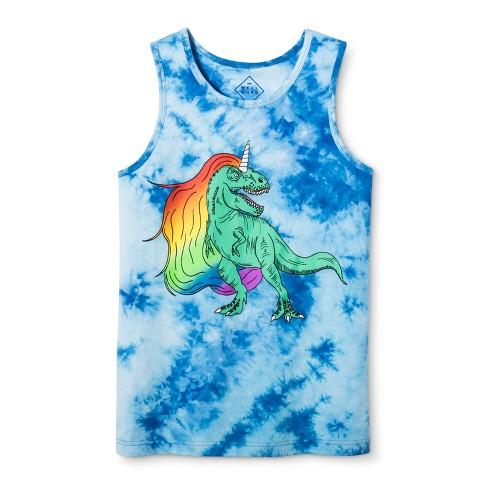 067828bb58471 Pride Adult T-Rex Tank Top - Blue Frost   Target