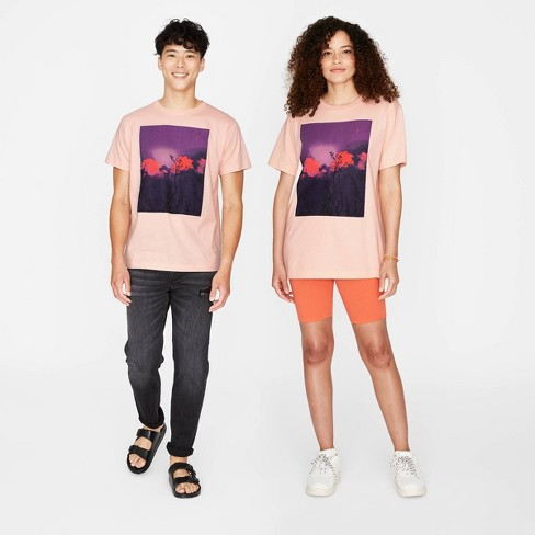 Adult Relaxed Fit Short Sleeve Graphic T-Shirt - Original Use™ Moxie Peach - image 1 of 2