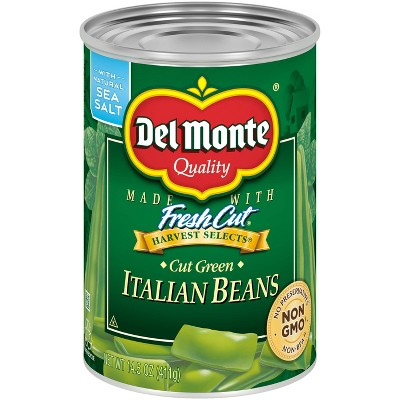 Del Monte Cut Italian Green Beans - 14.5oz