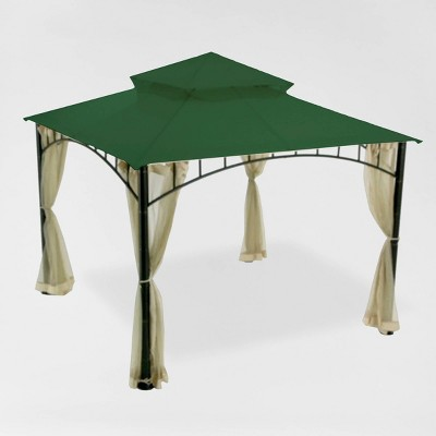 Madaga Replacement Canopy Riplock Green - Garden Winds