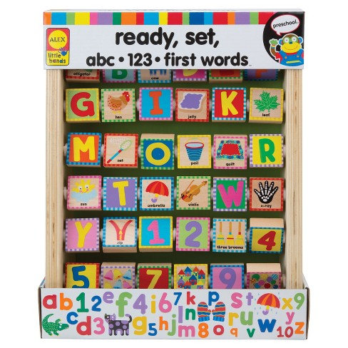 ALEX Toys Little Hands ABC 123 First Words - image 1 of 3