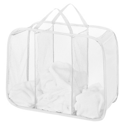 Pop Up Foldable Laundry Sorter White - Room Essentials™