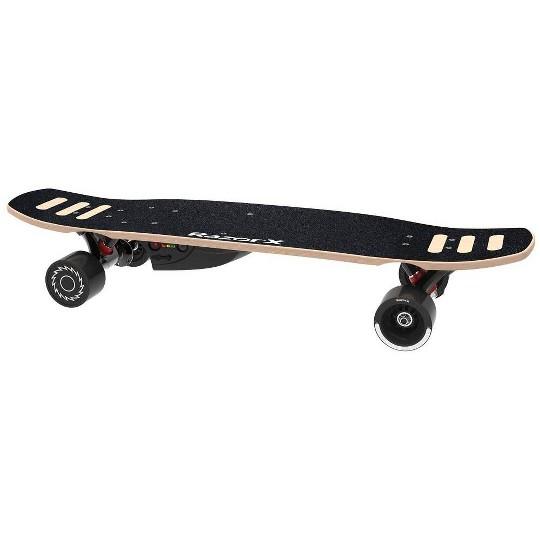 Razor DLX Electric Powered Skateboard, Black image number null