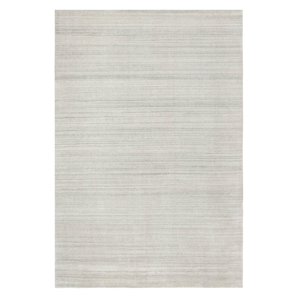 8'X10' Solid Area Rug Ivory/Gray - Safavieh