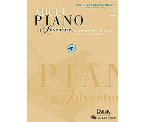 Adult Piano Adventures All-in-One Lesson Book 2 : Solos, Technique, Theory (Paperback) (Nancy Faber & - image 1 of 1