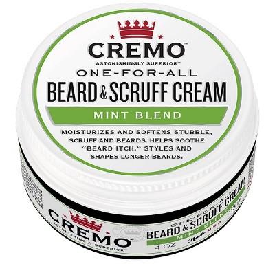 Cremo One-For-All Beard & Scruff Cream Mint Blend - 4oz