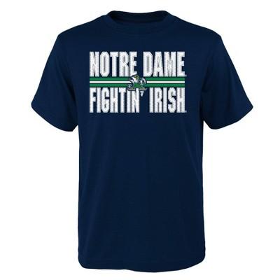 NCAA Notre Dame Fighting Irish Boys' Short Sleeve Core T-Shirt