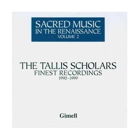 Tallis Scholars - Sacred Music in The Renaissance Vol. 2 (CD) - image 1 of 1
