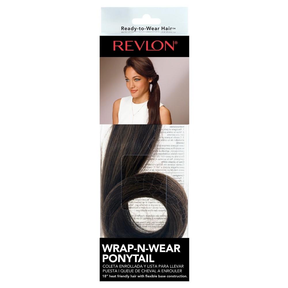 Wrap-N-Wear Ponytail - Medium Brown