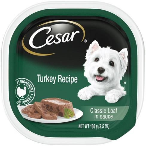 Cesar Canine Cuisine (Turkey in Meaty Juices) - Wet Dog Food - 3.5oz - image 1 of 2