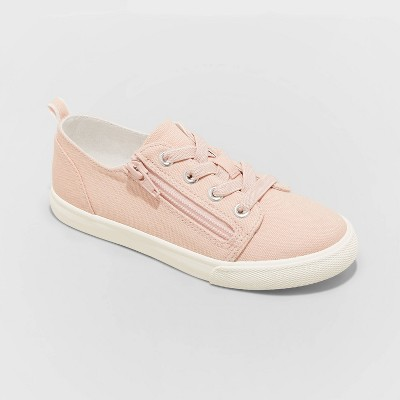 Kids' Lucian Double Zipper Apparel Sneakers - Cat & Jack™