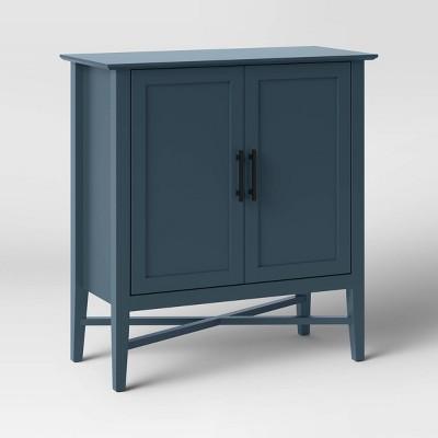 Elloree Storage Cabinet Navy - Threshold™