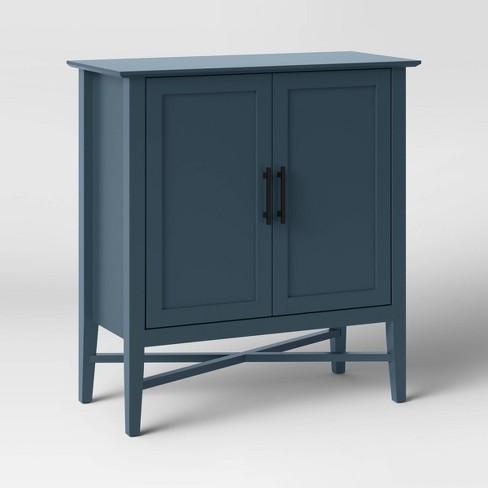 Elloree Storage Cabinet Navy, Target Storage Cabinets Furniture