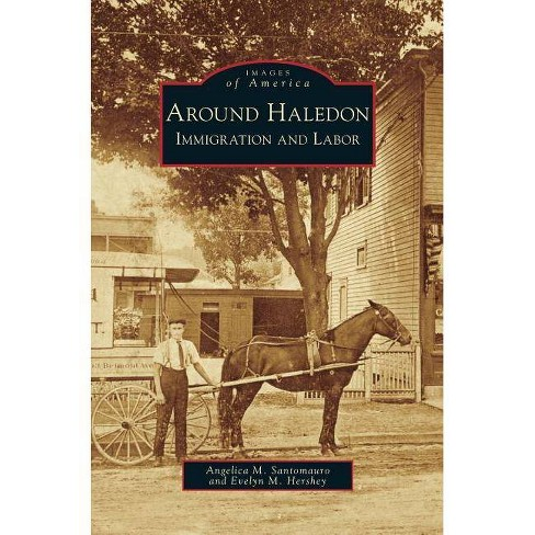 Around Haledon - by  Angelica M Santomauro & Evelyn M Hershey (Hardcover) - image 1 of 1