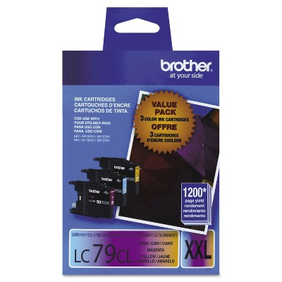 Brother LC793PKS Innobella Super High-Yield Ink Cyan/Magenta/Yellow 3/PK