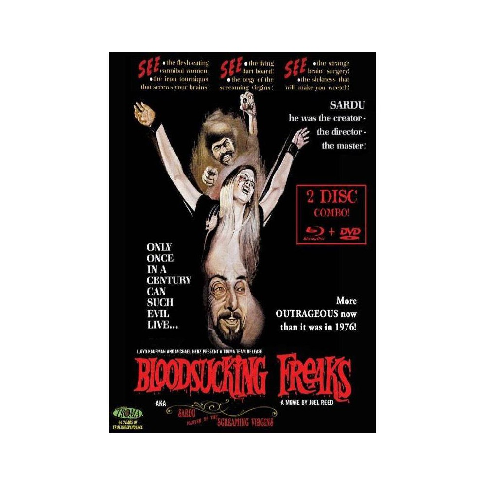Bloodsucking Freaks Dvd