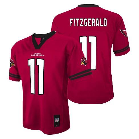 64000d619c60 Arizona Cardinals Larry Fitzgerald Jersey- Boys    Target