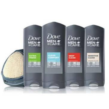 Dove Men+Care Body & Face Wash Collection