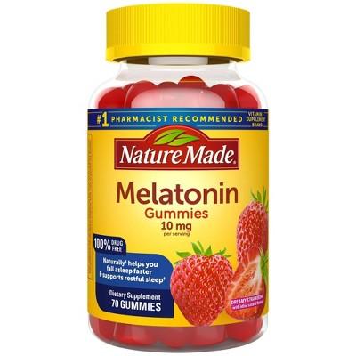 Nature Made Melatonin 10 mg Gummies - Dreamy Strawberry - 70ct