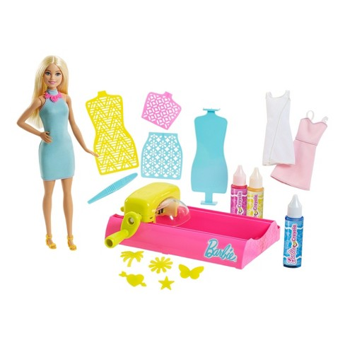 Barbie Crayola Color Magic Station and Doll - image 1 of 15