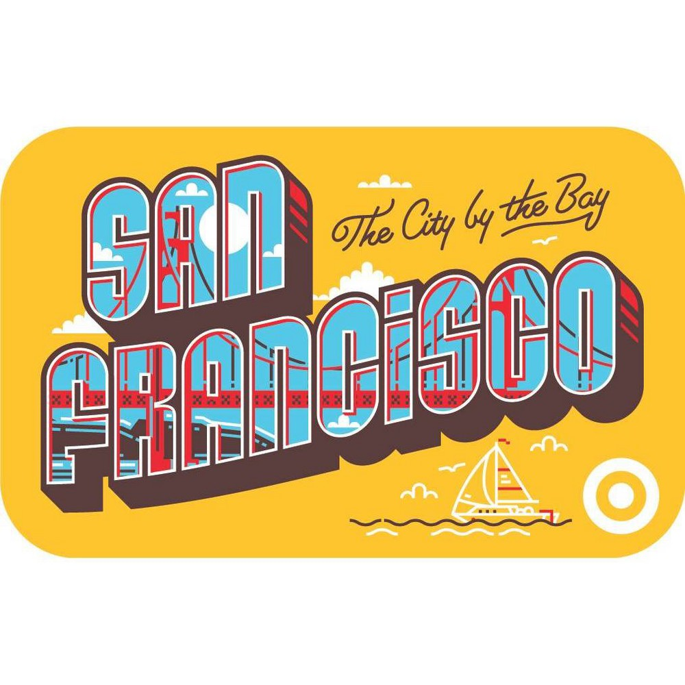 San Fran Postcard Target Giftcard San Fran Postcard Target Giftcard