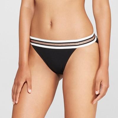 15302f53083e Womens High Leg Bikini – Xhilaration™ Black XL – Target Inventory ...