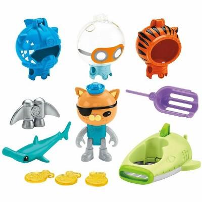 Fisher-Price Octonauts Kwazii Shark Adventure Figure Playset