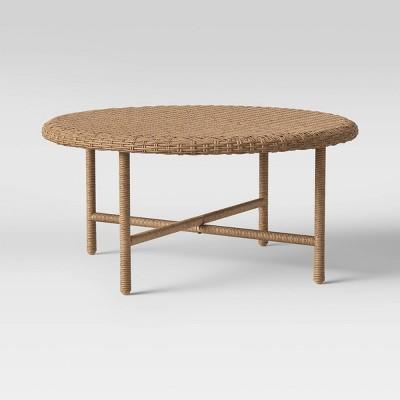 Wicker Patio Coffee Table - Threshold™ designed with Studio McGee
