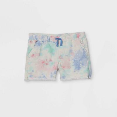 Girls' Tie-Dye Jean Shorts - Cat & Jack™