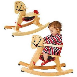 Magic Cabin - Grow With Me Rocking Horse - Woooden Rocker for Kids