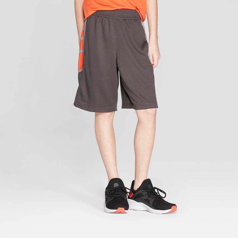 Boys' Court Shorts - C9 Champion Charcoal Grey XS